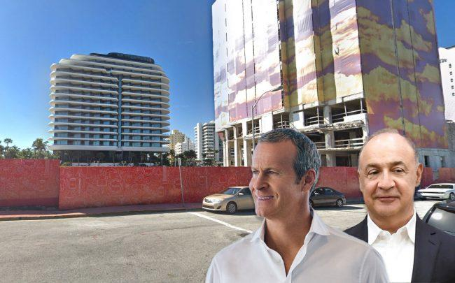 Vlad Doronin, Len Blavatnik, and 3425 Collins Avenue (Credit: Google Maps, Gesi Schilling, and Mark Neyman / GPO)