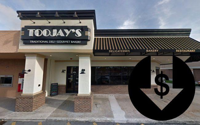 TooJay's (Credit: Google Maps)