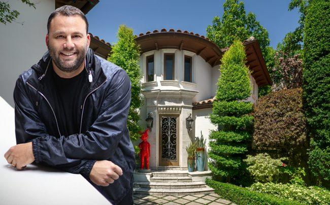 2201 Sunset Drive and David Grutman (Credit: Douglas Elliman)