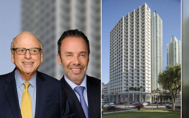 Howard Lorber, and Jay Parker, with 801 Brickell Avenue