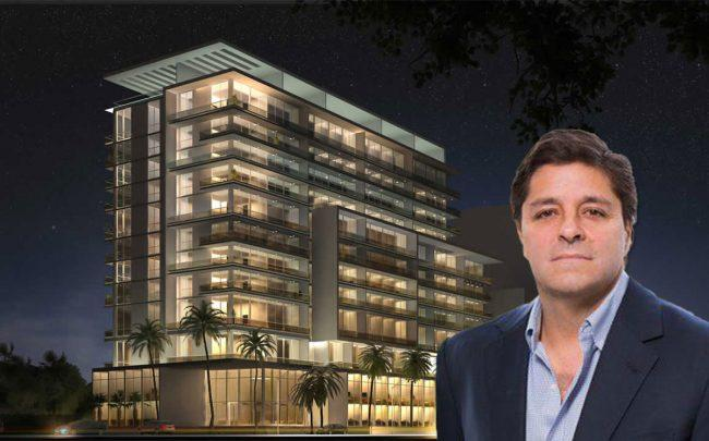 Alta Developers CEO Raimundo Onetto and Le Parc at Brickell rendering
