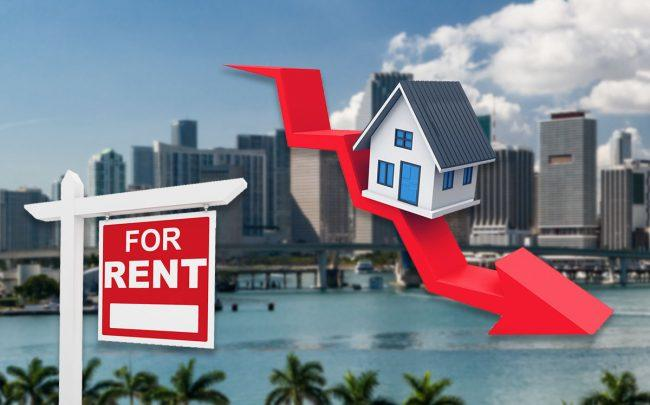 South Florida rents are starting to fall (Credit: iStock)