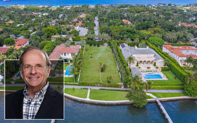 Mark Pulte and 445 North Lake Way Palm Beach
