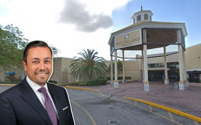 Southland Mall in Cutler Bay, Hazem Ben-Gacem, Investcorp's Co-Chief Executive Officer (Credit: Google Maps)