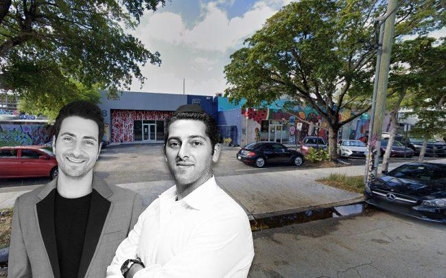 Alex Karakhanian and Chaim Cahane with 48 Northwest 25th Street
