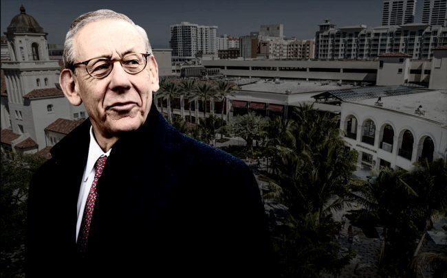 Stephen Ross and a rendering of Rosemary Square (Getty, Related)