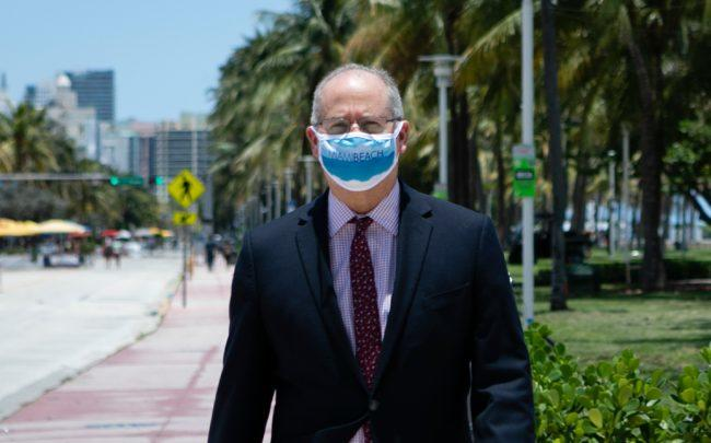 Miami Beach Mayor Dan Gelber (Credit: EVA MARIE UZCATEGUI/AFP via Getty Images)