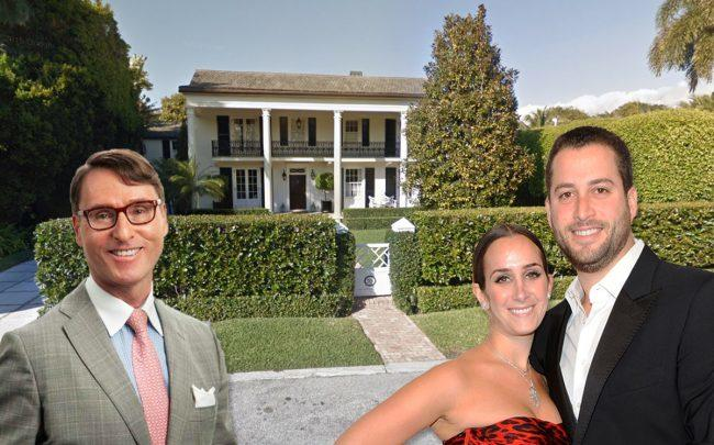 Brian C. Wille, Caroline Endzweig and Guy Endzweig, with 315 Tangier Ave (Credit: Google Maps and MAX RAPP/Patrick McMullan via Getty Images)