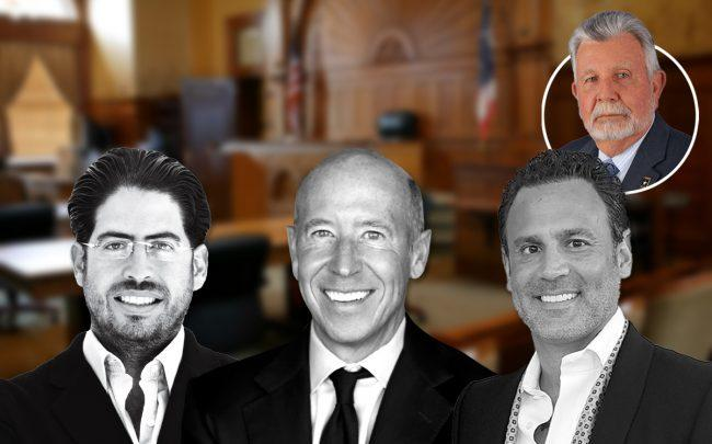From left: David Martin, Barry Sternlicht, Don Ghermezian, and Pedro Garcia