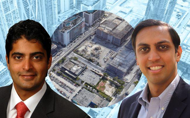Nitin Motwani, Sankesh Abbhi and 1016 Northeast Second Avenue (Google Maps)