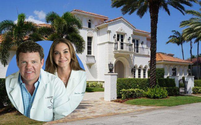 "1889 Sabal Palm Drive and Dr. Lawrence ""Scott"" and Donna Ennis"