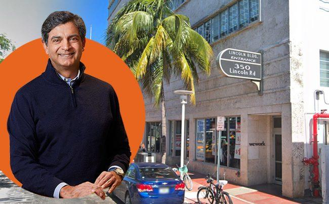 WeWork Lincoln Road with Sandeep Mathrani (Google Maps, WeWork)