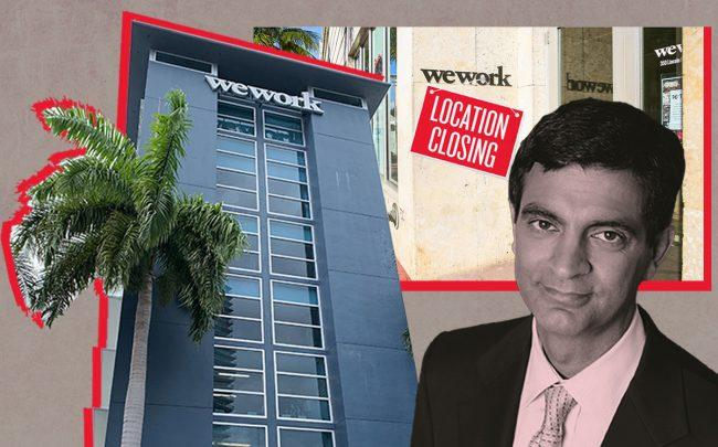 WeWork Lenox Avenue, WeWork Lincoln Road and CEO Sandeep Mathrani (Lenox location by Katherine Kallergis, WeWork, iStock)