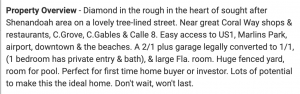 The property listing (Realtor)