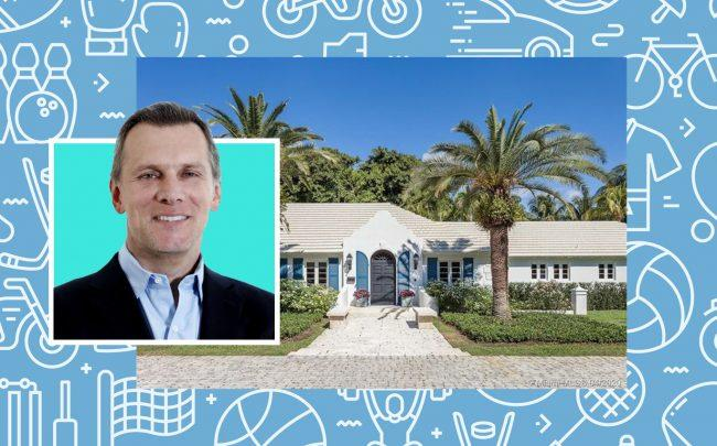 Jeffrey A. Schwartz and 5201 Oak Lane in Coral Gables (Excel Sports Management; Realtor)