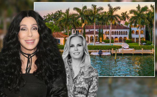 64 La Gorce Circle, Cher and Lourdes Alatriste (Credit: Bruce Glikas/Bruce Glikas/FilmMagic via Getty Images)