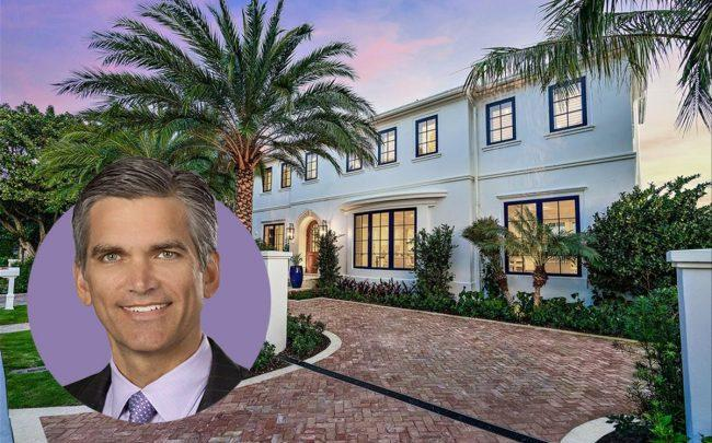 Tad Smith and 250 Indian Road (Courtesy of Sotheby's, Realtor)
