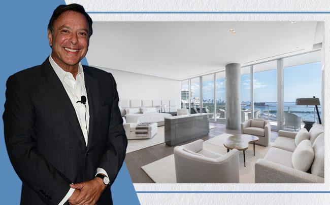 Mike Fernandez and Grove at Grand Bay unit 1901S (Getty, Lifestyle Production Group)