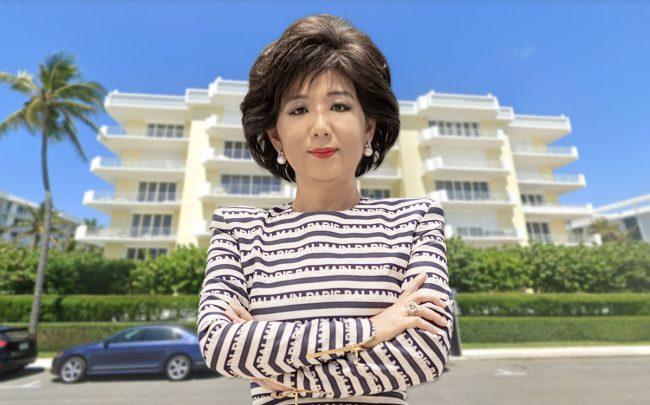 Yongmee Michele Kang and 101 Worth Avenue in Palm Beach