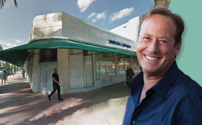 Michael Comras and 947 Lincoln Road (Credit: Google Maps)