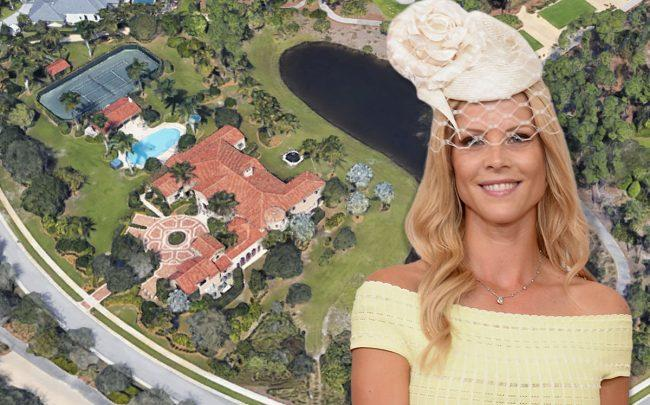 12251 Tillinghast Circle and Elin Nordegren (Credit: Google Maps and Gustavo Caballero/Getty Images)
