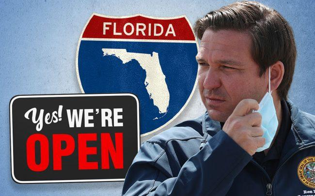 Florida Gov. Ron DeSantis (Credit: Joe Raedle/Getty Images)
