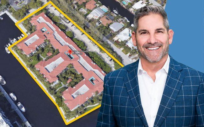 Grant Cardone and 3300 Port Royale Drive North, Fort Lauderdale (Credit: Google Maps)