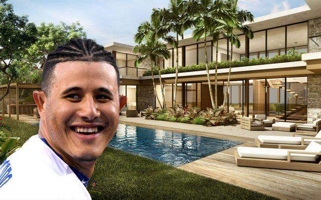 Manny Machado & 9261 School House Road (Credit: Harry How/Getty Images)