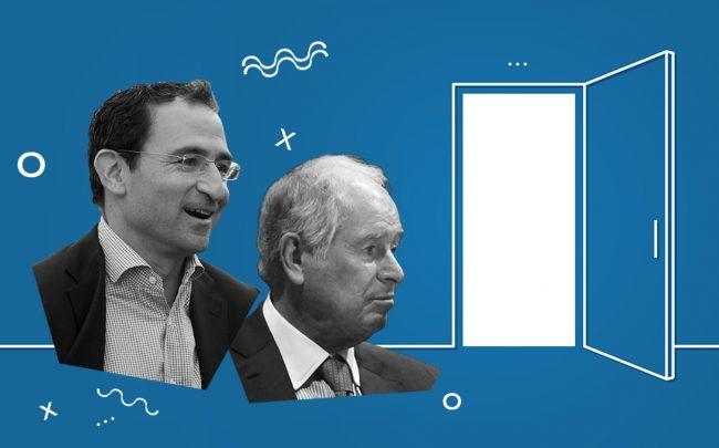 Blackstone's Jonathan Grey and Stephen Schwarzman (Getty, iStock)