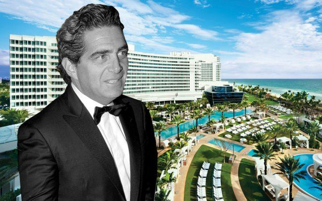 Jeffrey Soffer and Fontainebleau Miami Beach (Getty)