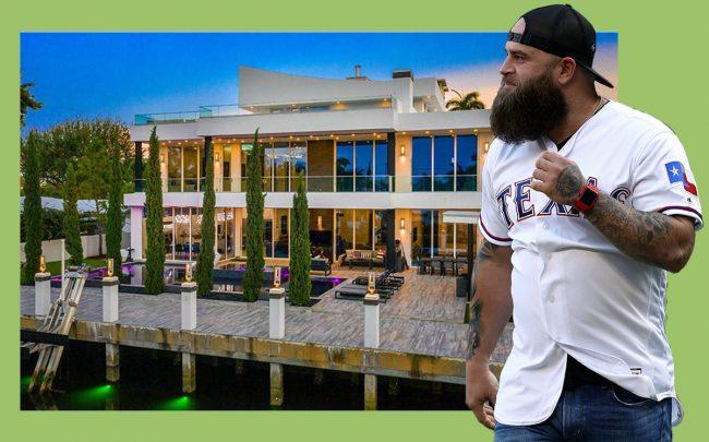 Mike Napoli and 2501 Delmar Place (Getty, Coldwell Banker)