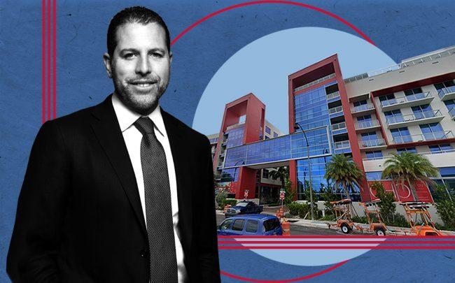 Josh Zegen of Madison Realty Capital and 777 North Ocean Drive, Hollywood (Google Maps)