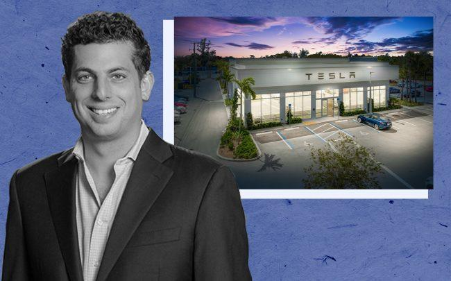 Pebb's Ian Weiner and 5544 Okeechobee Boulevard, West Palm Beach (Pebb Enterprises)