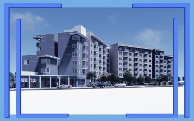 Renderings of the project (Courtesy of Pinnacle)