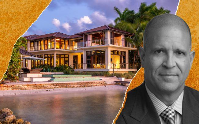 Platinum Equity's Johnny O. Lopez and 7 Harbour Point, Key Biscayne (Realtor)