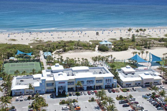 An aerial view of Ocean Walk in Palm Beach County (Ander & Co)