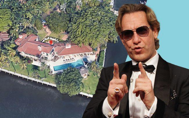 Michael Wekerle & 1000 Riviera Isle Drive (Credit: Google Maps and Isaiah Trickey/FilmMagic via Getty Images)