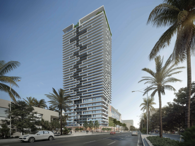 A rendering of 2900 Biscayne Boulevard