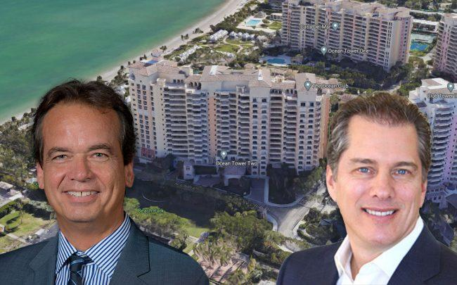 Leonard Boord & Phillip M. Jaffe & Ocean Tower Two in Key Biscayne (Credit: Google Maps)