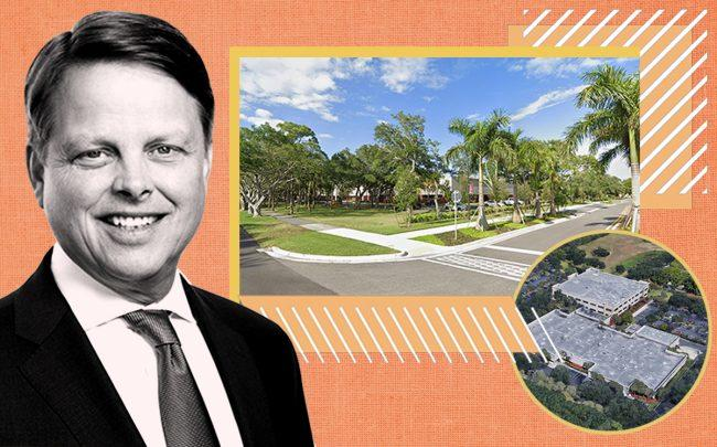 Lexington Realty Trust's Wilson Eglin and 5600 Broken Sound Boulevard, Boca Raton (Google Maps)