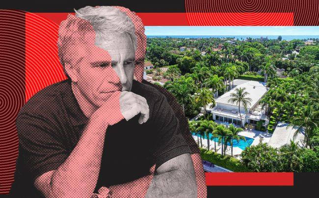 Jeffrey Epstein and 358 El Brillo Way (Getty, Corcoran Group)