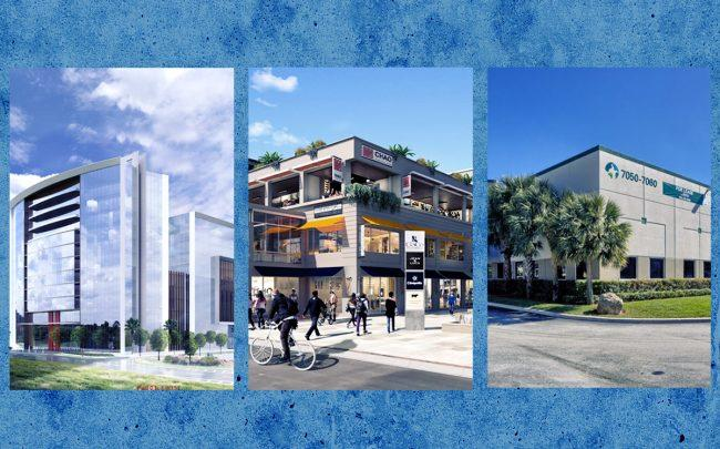 Renderings of Motorsport Network, CocoWalk and the Prologis building