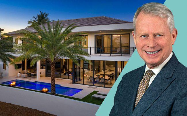 Raymond Silcock and 1220 Thatch Palm Drive, Boca Raton (Perrigo, Royal Palm)