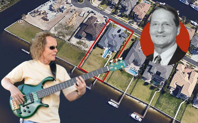 Dr. David R. Campbell (inset) and Mark Egan with13943 Chester Bay Lane (Florida Spine Center, Mark Egan, Google Maps)