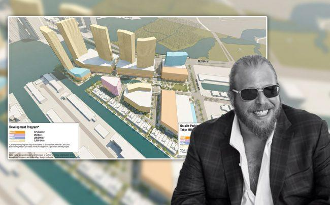 Gil Dezer and Intracoastal Mall rendering