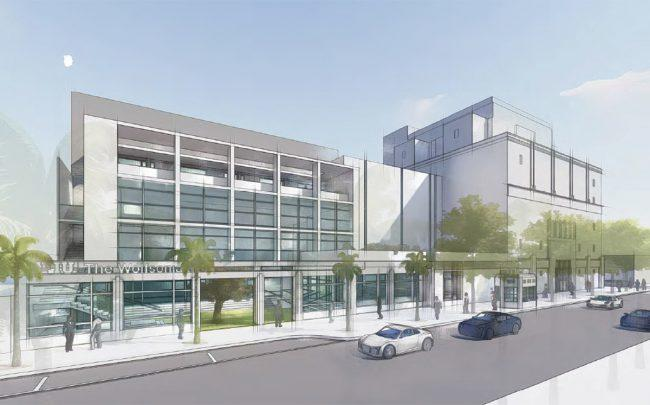 Rendering of new Wolfsonian-FIU Museum by Zyscovich Architects