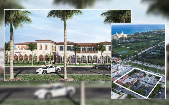 A rendering of Via Flagler by the Breakers, and the project site