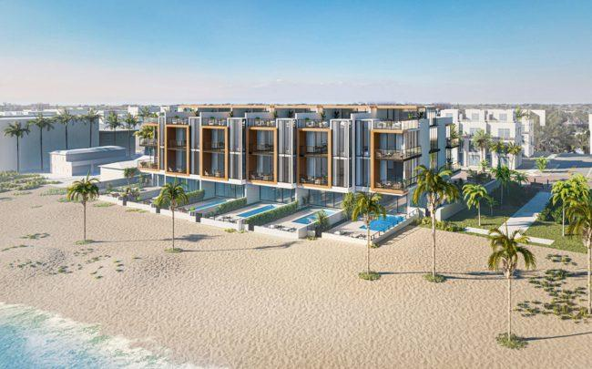 Rendering of The Ocean Six Terraces (Credit: Rex Nichols Architects)