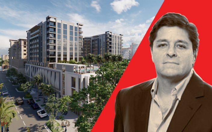 Alta Developers' Raimundo Onetto and a rendering of the project