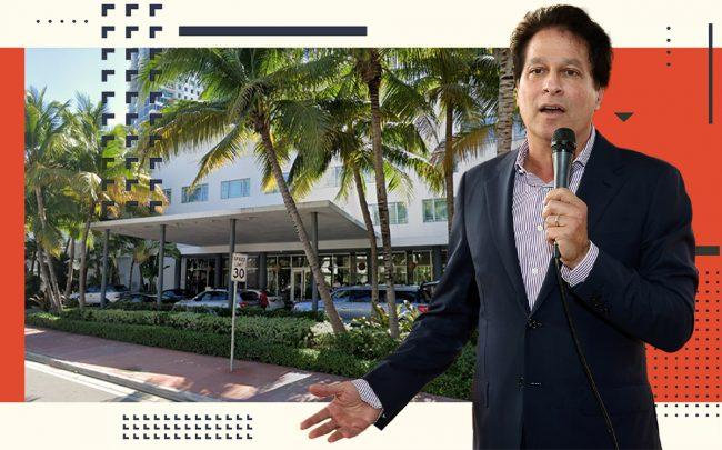 Ziel Feldman and the Shore Club South Beach (Getty, Google Maps)